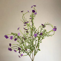 Artificial Wild Flowers Spray Purple - W053 V