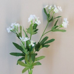 Artificial Wild Flowers White - W026 S2