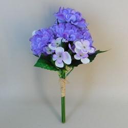 Artificial Flowers Posy Zinnias and Blossom - Z030 GG1