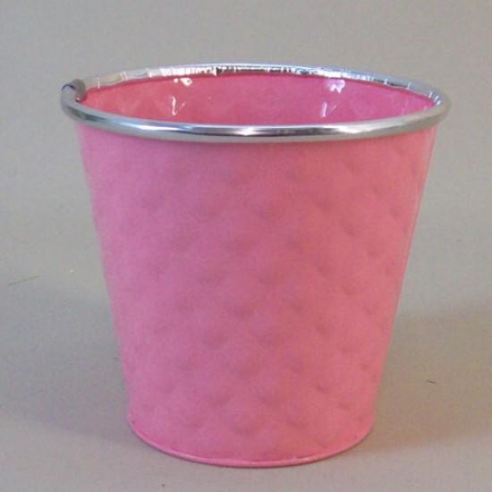 12cm Dapple Pot Pink -  POT007 2D