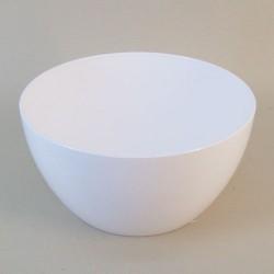 Polyurethane Bowl Planter White 23cm - BOW006 7B