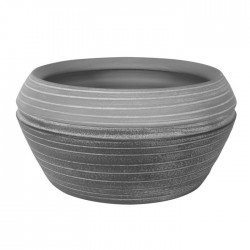 Capri Bowl Two Tone Grey 27cm -  BOW007