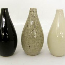 Ceramic Vases 3 Pack Brown - VS001 10B