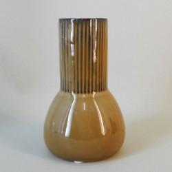 Mustard Ceramic Bud Vase 17.5cm - VS069 9B