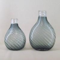 Grey Flower Vases