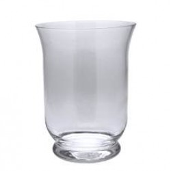 15cm Small Hurricane Vase Clear Glass - GL041  10B