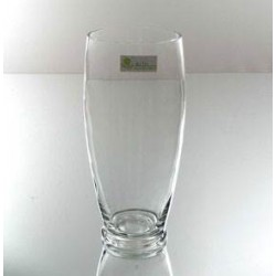 25cm Country Flower Vase Clear Glass - GL017 9A