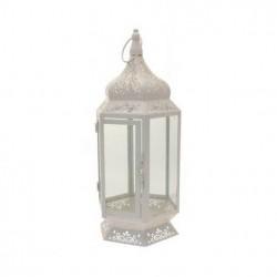 Vintage Five Sided Lantern Cream 40cm - LAN001 8A