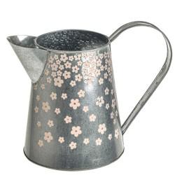 Ditsy Floral Metal Jug 16cm - TIN011 9D