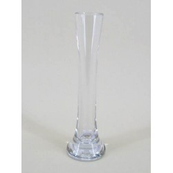 19.5cm Mini Lily Flower Vase Clear Glass - GL009  8C