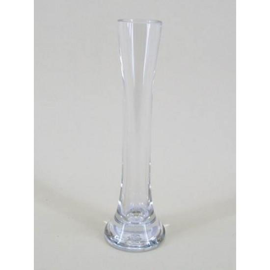 19.5cm Mini Lily Flower Vase Clear Glass - GL009  8C