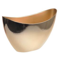 Plastic Pot Cover Gold Recyclable - VS072 7E