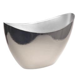 Plastic Pot Cover Silver Recyclable - VS073 5A