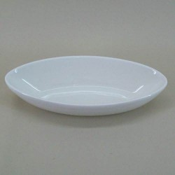 Pot Pourri Bowl Cream Ceramic Oval -  POT003 9C