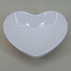 Pot Pourri Bowl Cream Ceramic Heart - POT001 9C