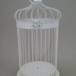 Vintage Wedding Bird Cage Large - BCG002 7A