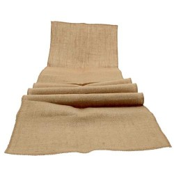 Burlap Hessian Table Runner - WED200