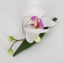 Artificial Orchid Boutonniere Buttonhole - COR002