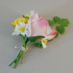 Buttermere Faux Flowers Boutonniere - BUT003