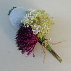 Hawkshead Faux Flowers Boutonniere - HAW003