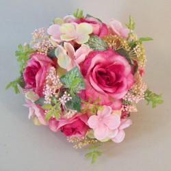 Lizzie Cottage Garden Pomander Pink - R814 U1