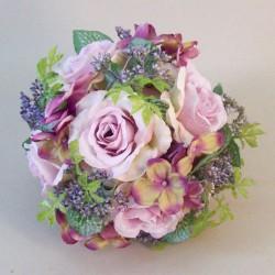 Lyla Cottage Garden Pomander Mauve Purple - R815 T1