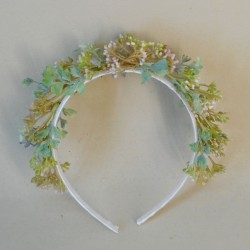 Hawkshead Faux Flowers Head Band Wild Berries - HAW005