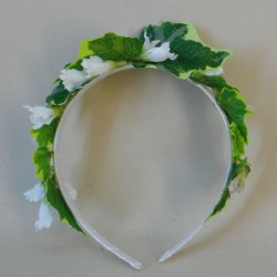 Loweswater Faux Flowers Head Band Ivy - LOW005