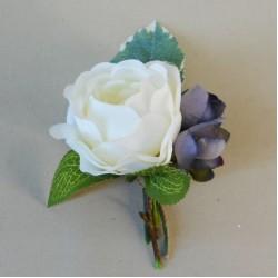 Skiddaw Faux Flowers Boutonniere - SKI003