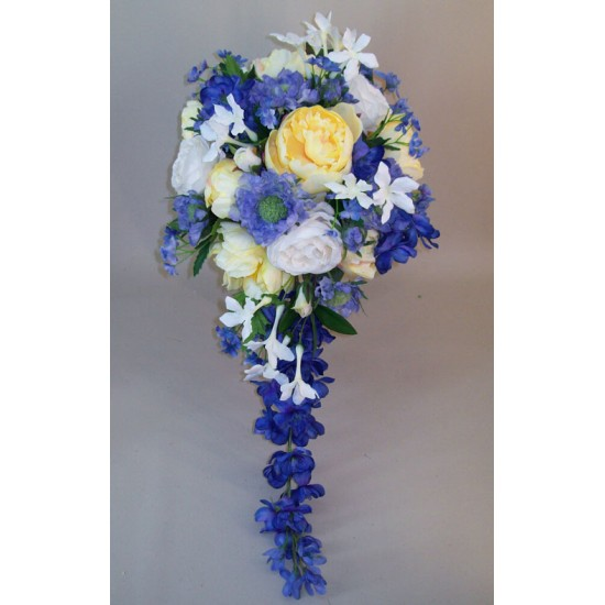 Artificial Flowers Wedding Bouquet Victoria - ASB010