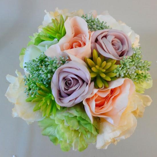 Adele Artificial Flowers Wedding Bouquet - ADE001 L1