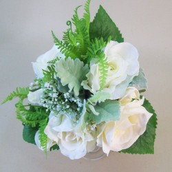 Anna Roses Wedding Bouquet Ivory - R845 GS3B