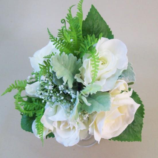 Anna Roses Wedding Bouquet Ivory - R845 GS3B