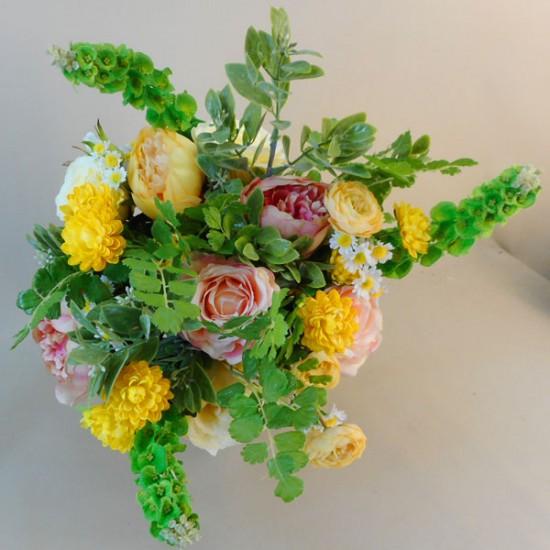 Buttermere Faux Flowers Wedding Bouquet Bride - BUT001