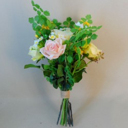 Buttermere Faux Flowers Wedding Bouquet Bridesmaid - BUT002