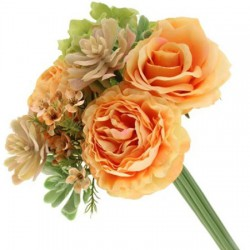 Camilla Wedding Posy Bouquet Peach - CAM005 G2