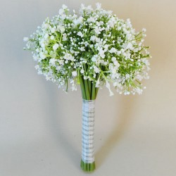 Finest Artificial Gypsophila Bouquet White - G185 FF2