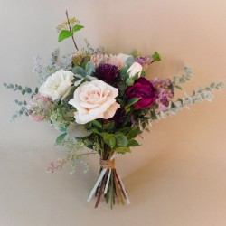 Hawkshead Faux Flowers Wedding Bouquet Bride - HAW001