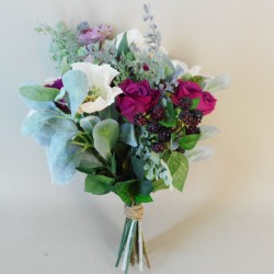 Hawkshead Faux Flowers Wedding Bouquet Bridesmaid - HAW002
