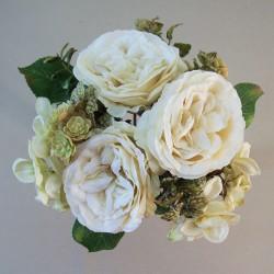 Honor Autumn Garden Wedding Posy Cream - HON003 FF3