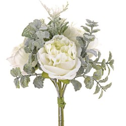 Ina Wedding Posy Bouquet ivory Peonies - R938 HH1