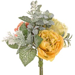 Ina Wedding Posy Bouquet Yellow and Orange Peonies - R940 HH1