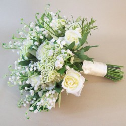 Katherine Artificial Flowers Wedding Bouquet - KAT001