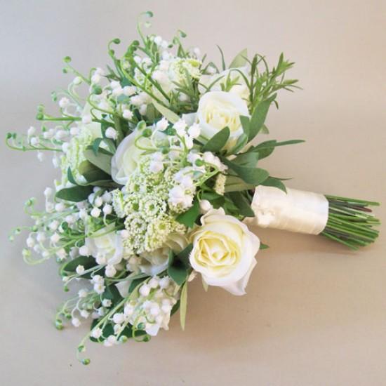 Katherine Artificial Flowers Wedding Bouquet - KAT001
