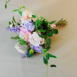 Longlands Faux Flowers Wedding Bouquet Bridesmaid - LON022