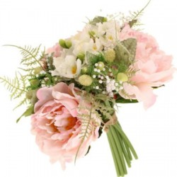 Luella Wedding Posy Bouquet Pink Peonies - LUE001 I1