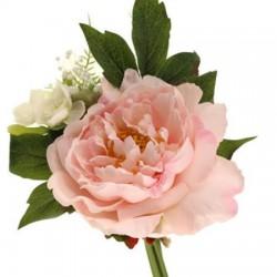 Luella Wedding Posy Bouquet Pink Peonies Small - LUE002 I1
