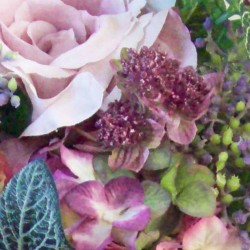 Lyla Cottage Garden Wedding Bouquet - LYL001