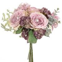 Pearl Wedding Posy Bouquet Pink - PEA018
