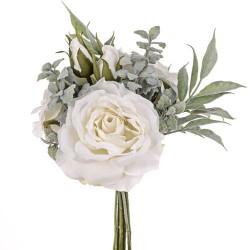 Sophia Roses Bouquet Ivory - SOP002 FF2
